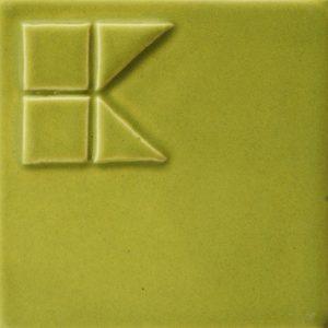 зелена матова глзура