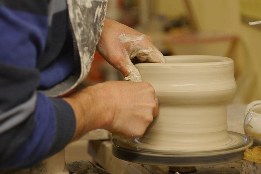 glina za touchent, tocharska glina, gryncharska glina, Keramika