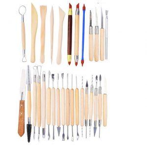 instrumenti za modeliorane, glina, instrumenti, инструменти за моделиране на глина