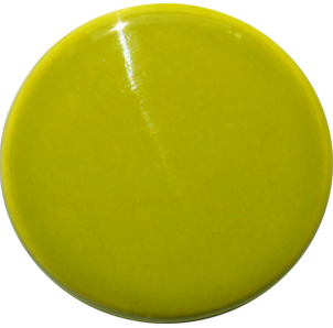 green ceramic stain