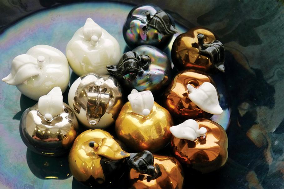 lustro, лустро, злато, каремика, порцелан, платина,