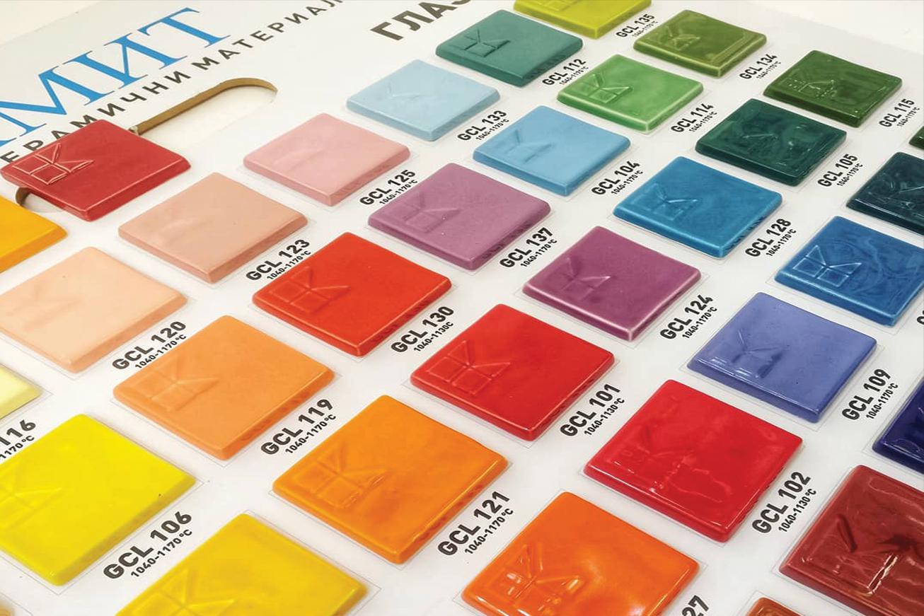 магазин за художествени материали и материали за порцелан, керамика и стъкло