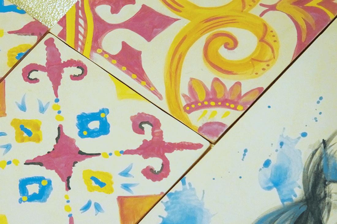 risuvani plochki, glazura, keramika, keramichni glazuri