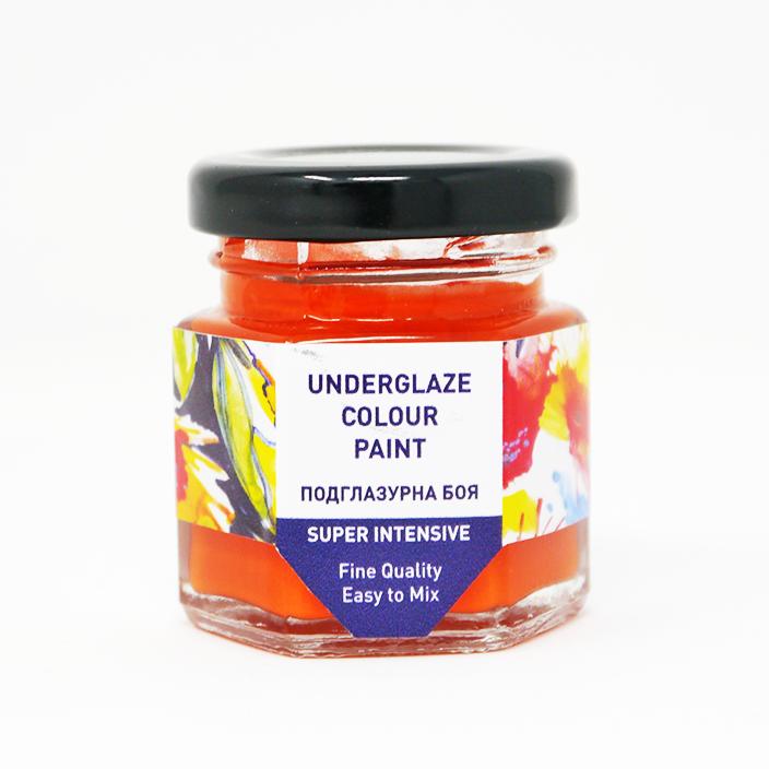 Orange Underglaze Paint UCP 04