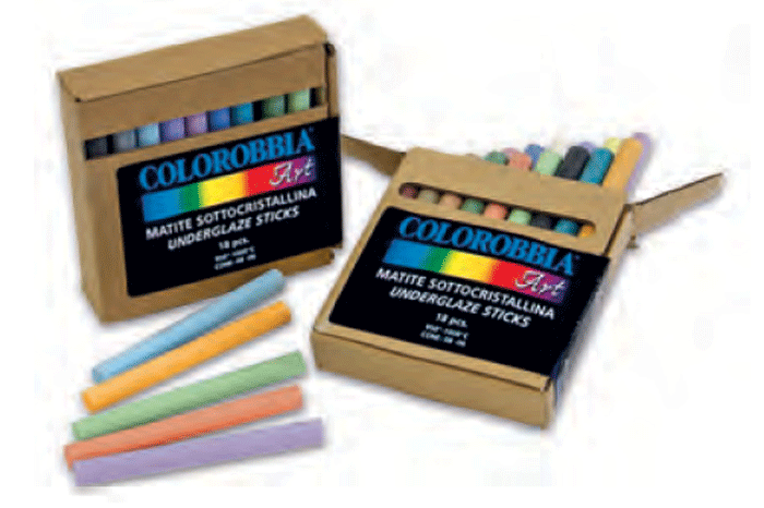 Подглазурни моливи / пастели
